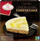 Coppenrath & Wiese swirl lemon cheesecake