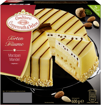 Coppenrath & Wiese Marzipan-Mandel Torte
