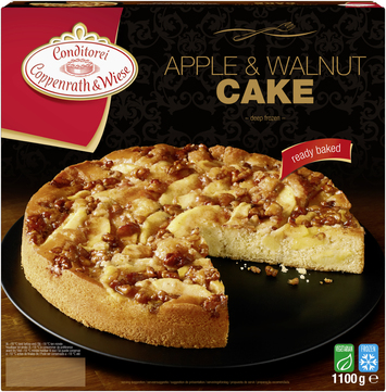 Coppenrath & Wiese apple & walnut cake