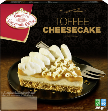 Coppenrath & Wiese toffee cheesecake